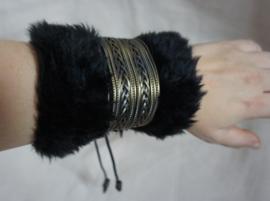 Polsband Fake Fur - Nr. 15