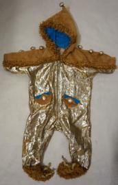 Gouden onesie KIDS -  2 delig
