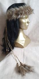 Fake-fur hoofdband - HB 8