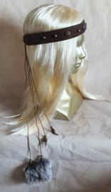 Donkerbruine hoofdband - HF8