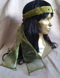 Mosgroene hoofdband
