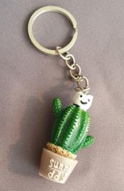 Sleutelhanger Cactus - 5