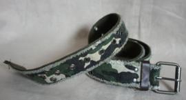 Camouflage riem