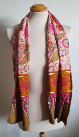 Sjaal met print