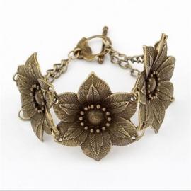 Bloemen armband