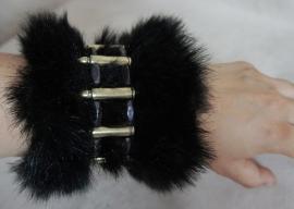 Polsband Fake Fur - Nr. 2