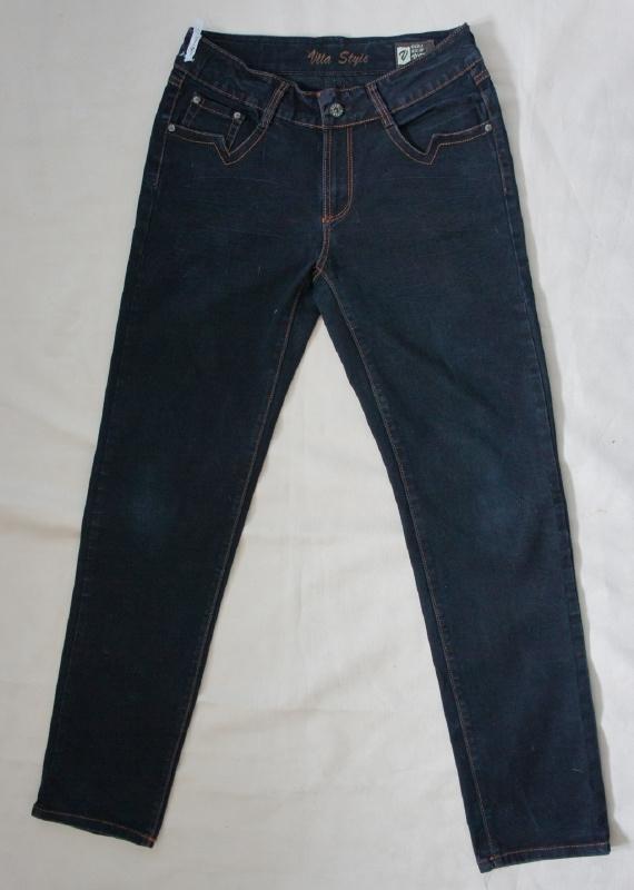 Donkerblauwe spijkerbroek - Mt. 12