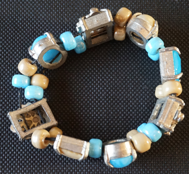 Armband - zware luxe kralen