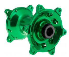 REX Wheels naaf voorwiel 20MM Kawasaki KX 125 2006-2007 & KX 250 2006-2008 & KX 250F 2006-2018 & KX 450F 2006-2019