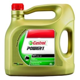 Castrol motorolie Power 1 Racing 4T 15W-50 4 liter