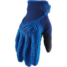 Thor MX handschoenen Spectrum Blauw