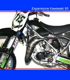 Scalvini uitlaat bocht Kawasaki KX 85 2003-2013