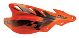Rtech handkappen Raptor + montageset Fluor oranje speciaal voor de Supermoto en Enduro