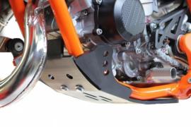 AXP GP blokbescherming HDPE zwart KTM SX 85 2018-2019 & Husqvarna TC 85 2018-2019