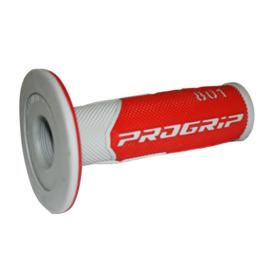 Pro Grip 801 handvaten grijs/rood