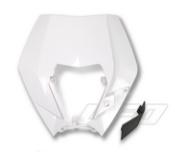 UFO koplamp plastic wit voor KTM EXC 125/200/250/300 2009-2011 & EXC-F 250/350/450/530 2009-2011 & EXC-F 500 2011