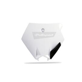 Polisport voornummerplaat wit voor de KTM SX 85 2003-2012