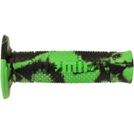 Domino handvaten Snake groen/zwart