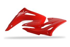 Polisport radiator kappen rood voor de Honda CR 85 2003-2007