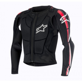 Alpinestars Bionic Plus bodyprotector zwart-rood