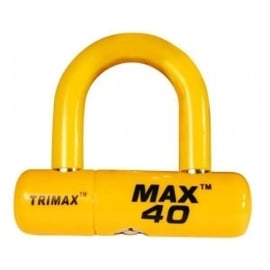Trimax ultra schijfslot geel