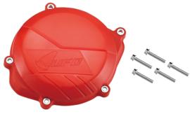UFO koppelingsdeksel bescherming rood voor de Honda CRF 450R 2009-2016