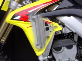 Works Connection Radiator Braces voor de Suzuki RMZ 250 2010-2018
