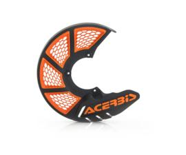 Acerbis X-Brake 2.0 remschijf beschermer Zwart / Oranje