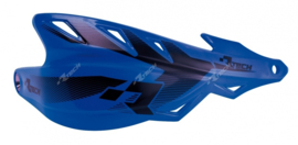 Rtech handkappen Raptor + montageset YZF blauw speciaal voor de Supermoto en Enduro