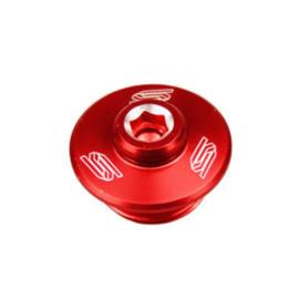 Scar olievuldop rood Suzuki RM 80/85 2001-2016 & RM 125/250 2001-2008 & RMZ 250 2007-2018 & RMZ 450 2005-2018