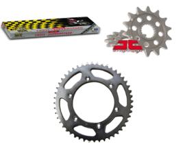 Ketting/Tandwiel kit bestaande uit JT voor en achter tandwiel ketting REGINA 520 RX3 KTM 125-540 1991-2019 & Husqvarna 125-501 2014-2019