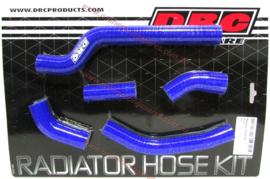 DRC radiator slangen set blauw voor de Yamaha WR 250F 2007-2014