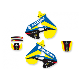Blackbird Dream 4 sticker set Suzuki RM 125/250 1996-2000