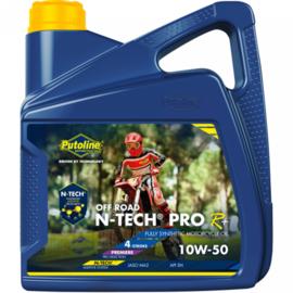 Putoline N-Tech Offroad 4+ 10W-50 4 liter