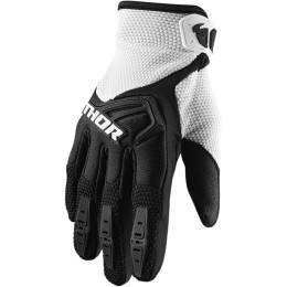 Thor MX handschoenen Spectrum Zwart / Wit