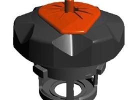 Tuff Jug benzine dop voor KTM SX/EXC 2/4 takt 125 t/m 530 09-13 zwart/oranje
