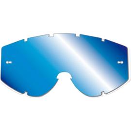 Pro Grip blauwe spiegellens voor progrip brillen zonder roll off voor Progrip 3303 Vista