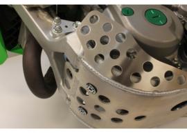 Works Connection verlengde blokbescherming/bodemplaat/glijplaat voor de Kawasaki KX 450F 2019