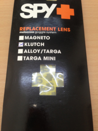 Spy replacement lens Klutch geel