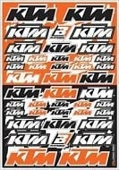 Blackbird logo kit voor KTM