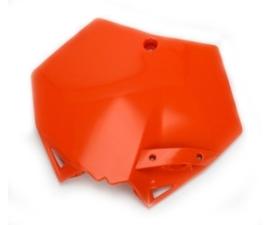 Cycra voornummerplaat stadium voor de SX/SXF 125/144/150/250/350/450/505/525 bj 07-12 & voor de EXC/XC/XCW/XCFW 200/250/300/400/450/505/525/530 bj 08-12 in 3 kleuren