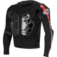 Alpinestars Bionic Pro bodyprotector zwart-rood