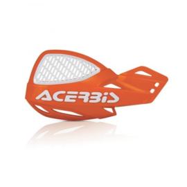 Acerbis handkappen MX Vented Uniko oranje/wit
