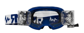 RNR crossbril WVS Blauw met roll off ( 48mm )