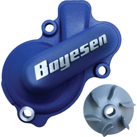 Boyesen Supercooler waterpomp deksel aluminium KTM SX-F 450 2016-2017 & EXC-F 500 2017-2018 & Husqvarna FC 450 2016-2017 & FE 450 & FE 501 2017