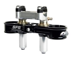 Neken kroonplaten set top SFS incl. stuurklemmen voor KTM SX/SXF 125/250/350/450 2013-2019