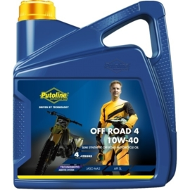 Putoline Technomoto Off Road 4 takt olie 10W-40 4 liter