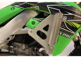 Works Connection Radiator Braces voor de Kawasaki KX 250F 2021 & KX 450F 2019-2021