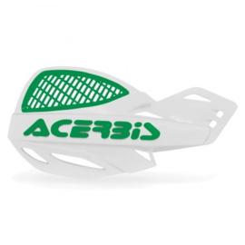 Acerbis handkappen MX Vented Uniko wit/groen