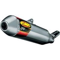 FMF Q4 HEX Slip-On uitlaatdemper voor de KTM SX-F 250/350/450 2016-2018 & EXC-F 250/350/450/500 2017-2018 & Husqvarna FC 250/350/450 2016-2018 & FE 250/350/450/501 2017-2018